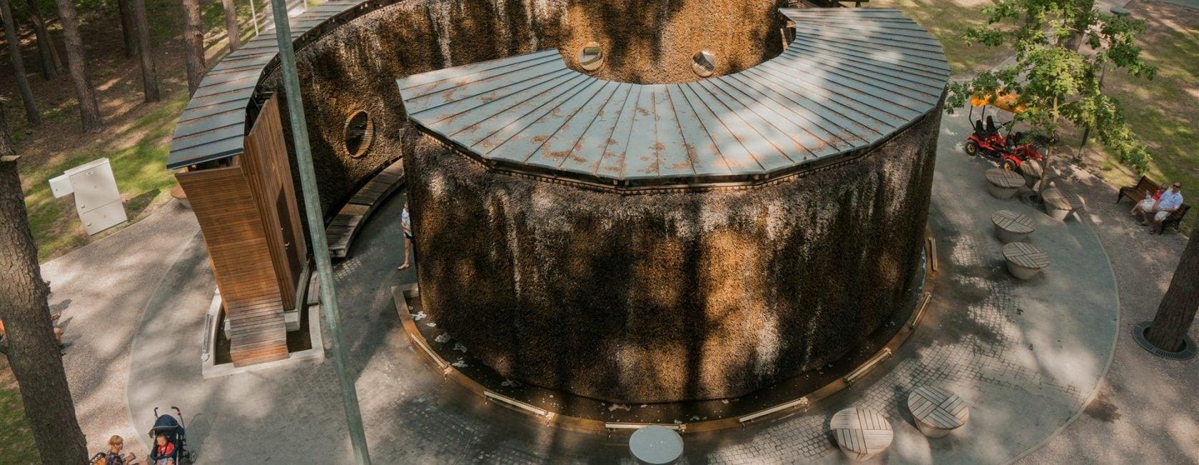 Vandens garinimo bokštas