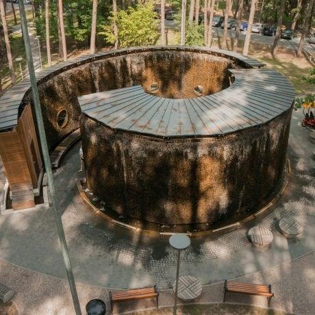 Башня испарения воды