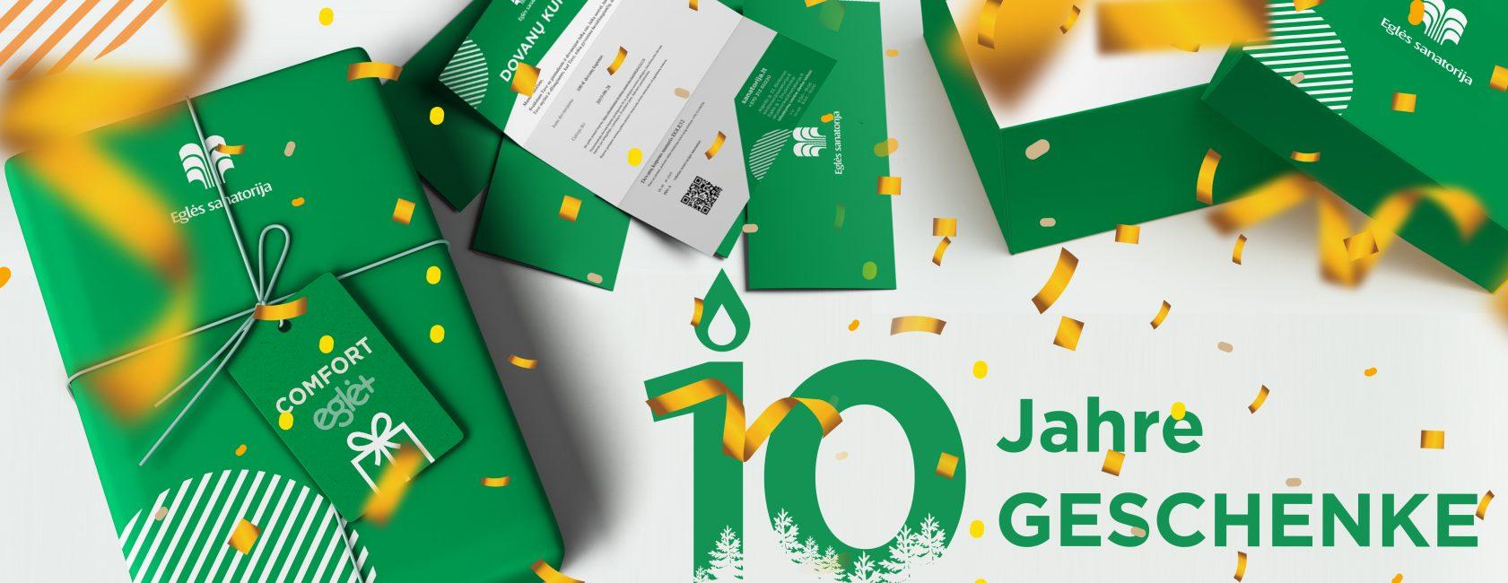 10 jahre – 10 geschenke!