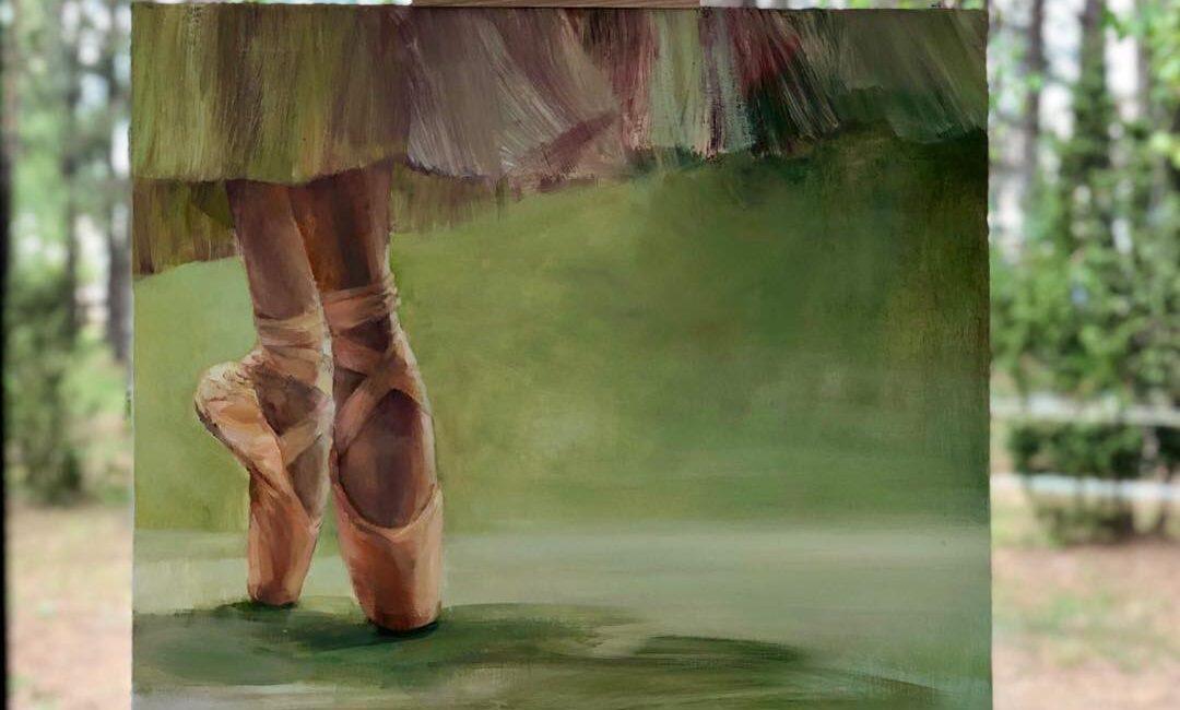 "Painting exhibition of Vilma Vasiliauskaitė: ""On the fingertips…"" at the medical SPA ""Eglės sanatorija"""