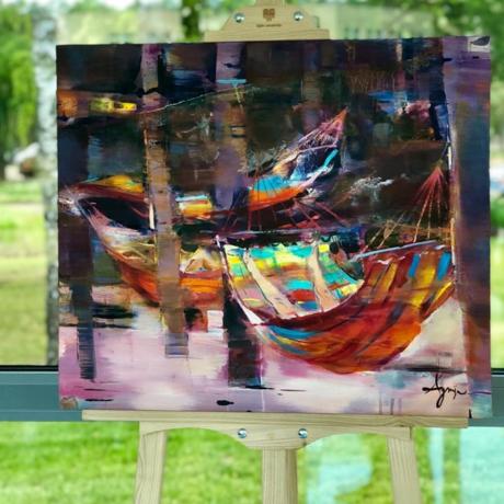 Pasigrožėkite įspūdingais lietuvių ir užsienio autorių tapybos darbais