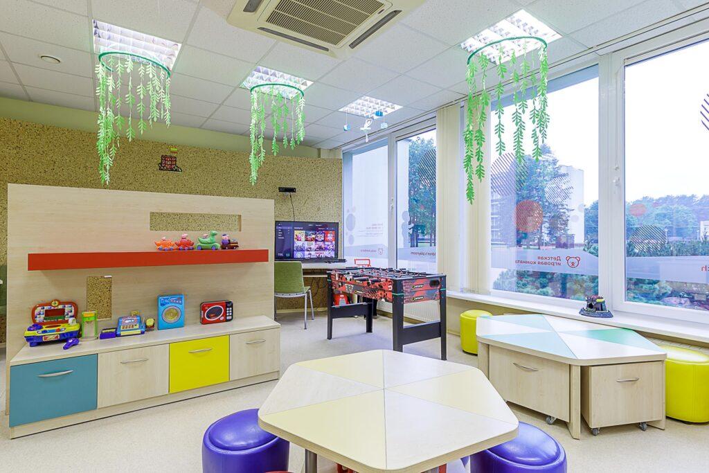 Vaikų žaidimų kambarys Druskininkuose Eglės sanatorija