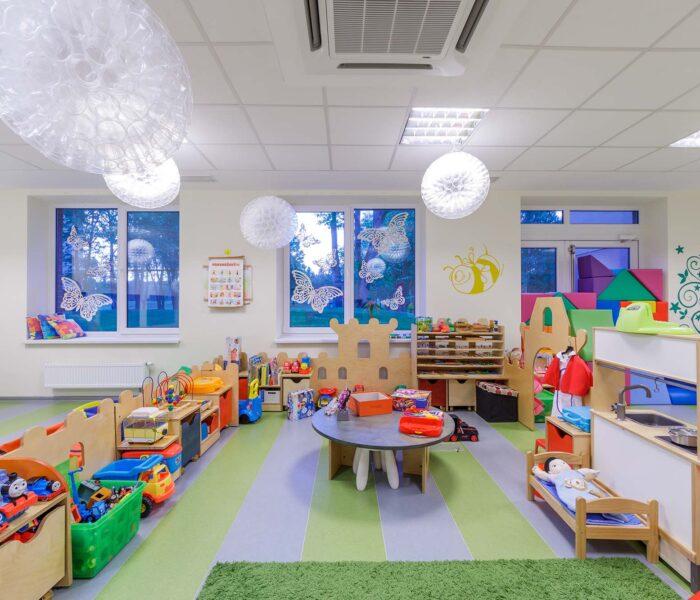 Vaikų kambarys Eglės sanatorija