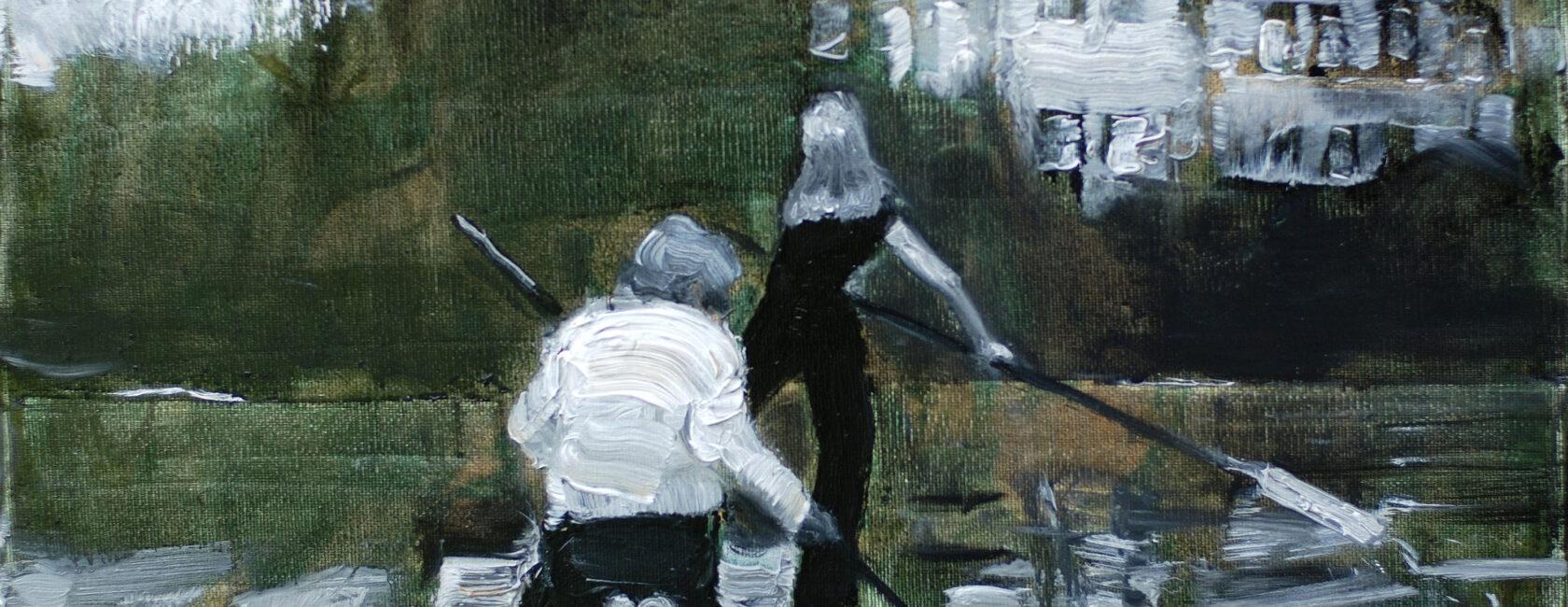 """Nauja paveikslų paroda pasiekė stiklinę galeriją """"Eglės sanatorijoje""""!"""