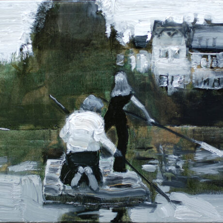 Nauja tapytojo R. Balinsko paveikslų paroda