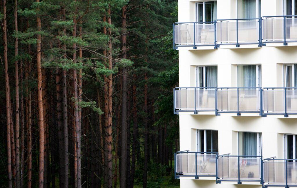 Как в настоящее время организована деятельность санатория «Eglės sanatorijа»